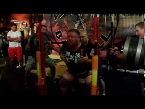 Henry Thomason Powerlifting Squat Training 9/08/13 - 3w USPA Mr. Olympia Image 1