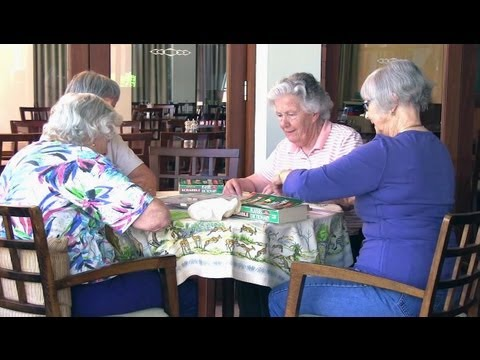 A cure for loneliness -- making new friends in a retirement village, with Chris Baynes