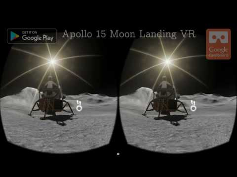 Apollo 15 Moon Landing VR screenshot for Android