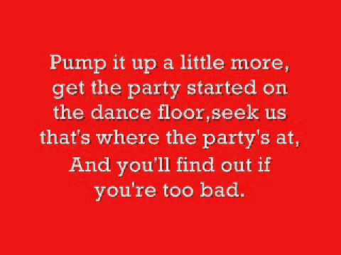 Pump up the Jam lyrics.wmv