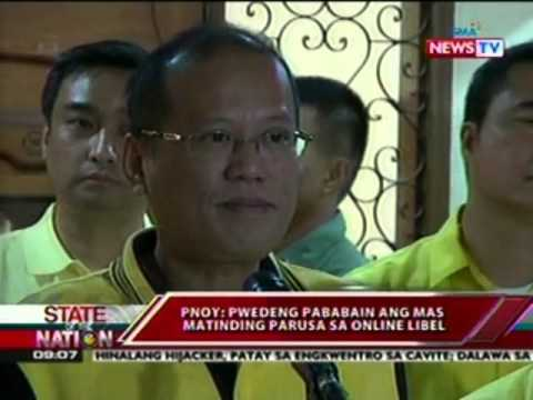 SONA: Pangulong Aquino, dinepensahan ang anti-cybercrime law at online libel