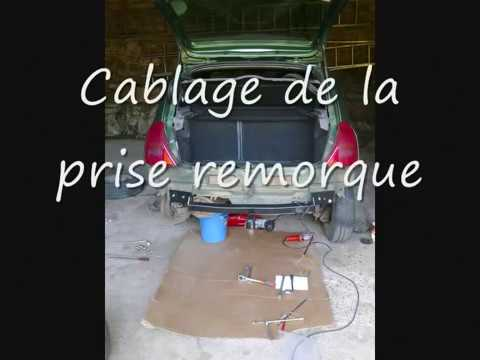 montage attelage clio2ph1 1998 2011 youtube