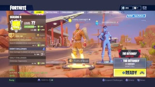 FORTNITE NEW GUN FACE REVEAL AT 300 SUBS GETTING WINS NEW HIGH STAKES MODE