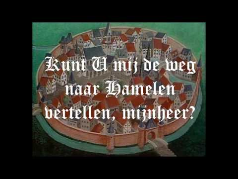 Kunt U mij de weg naar Hamelen vertellen, mijnheer? - de originele tune