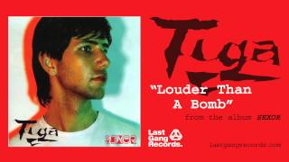 Watch Tiga Louder Than A Bomb video