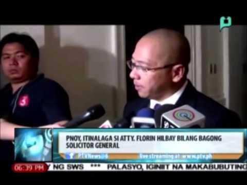 News@6: Pangulong Aquino, itinalaga si Atty. Florin Hilbay bilang bagong solicitor general
