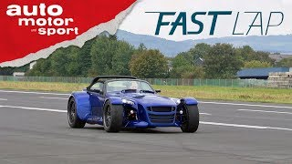 Donkervoort GTO: Orkan im Cockpit - Fast Lap | auto motor und sport