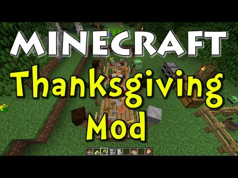 Minecraft Thanksgiving Mod (Happy Thanksgiving!)