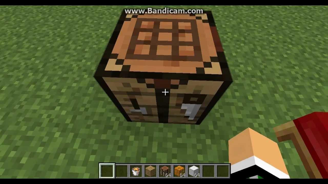 Создание кровати minecraft