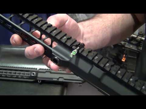 SHOT Show 2014 - MEGA Arms NEW Megalithic AR-15 Upper Receiver