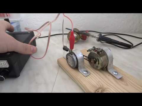 Электрогенератор с электродвигателем своими руками