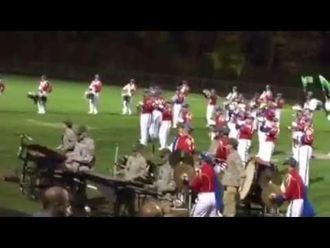 Spaulding High School Marching Band 10/18/14