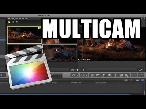 Final Cut Pro X - #40: Edición en Multicam