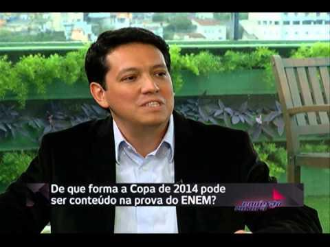 Questões relacionadas à Copa do Mundo no Enem