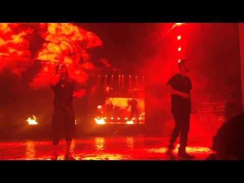 Drake & Lil Wayne - Hyfr (live) - Holmdel, Nj video
