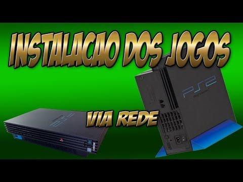 PS2 (FAT) ou Tijolo - Como Instalar os Jogos via Rede