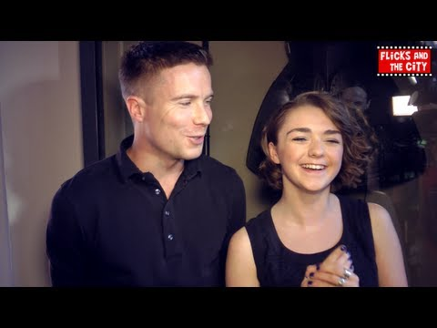 Game of Thrones Season 3 - Maisie Williams, Joe Dempsie, Kate Walsh & Grace Woodward