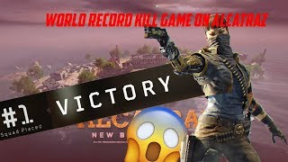*WORLD RECORD* 86 SQUAD KILLS BLACKOUT ALCATRAZ