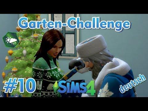 Sims 4 - Garten-Challenge - Rags-to-Riches #10 - Spaß mit Väterchen Frost