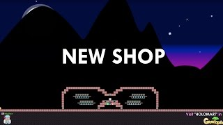 Growtopia | Building A New Shop World With TONS of WLS |
