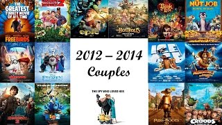 My Top 15 Favorite 2012 - 2014 Animation Couples