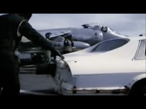 Stig's Super Jaguar Vs Harrier Jet - End of the Stig? - Top Gear series 3 - BBC