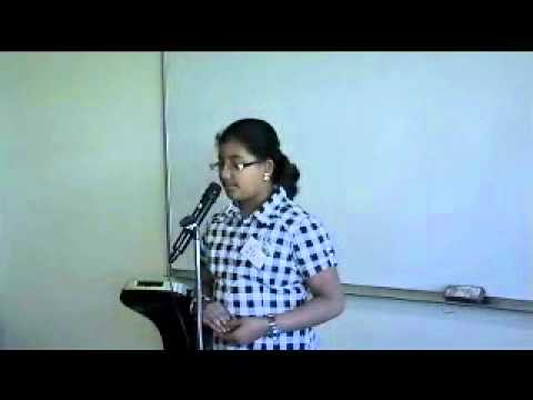 Talent Time 2010 - Karthika Poetry Malayalam video