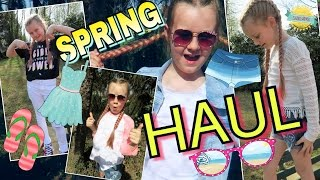 SPRING Summer FASHION HAUL H&M ABERCROMBIE coole Mädchen