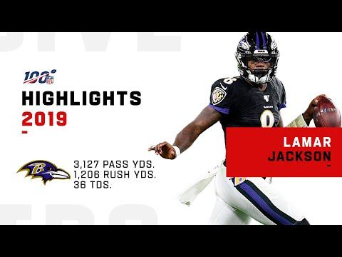 Lamar Jackson Full Season Highlights  NFL 2019