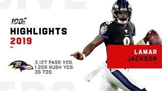 Lamar Jackson Full Season Highlights | NFL 2019