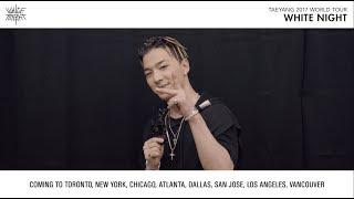 download lagu Taeyang 2017 World Tour White Night - Ty's Message gratis
