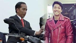 Usai Viral, Sosok Pemeran Pengganti Jokowi dalam Video Naik Moge Hapus Fotonya di Instagram