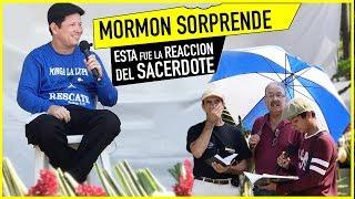 MORMON SORPRENDE A SACERDOTE con 6 preguntas mire su REACCION