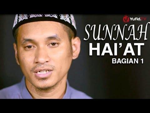 Serial Fikih Islam (27): Sunnah Hai'at Bagian Pertama - Ustadz Abduh Tuasikal
