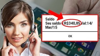 Crédito de GRAÇA Para Qualquer Operadora de Celular - iPhone ou Android!