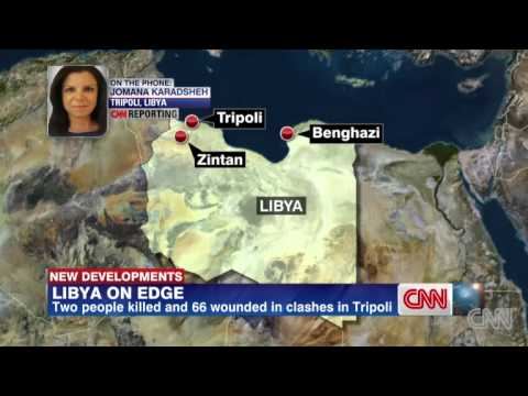Libya On Edge: Fighting Sweeps Across Tripoli Following Violence In Benghazi