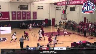 NJIT Men's Basketball Highlights vs. St. Francis Brooklyn