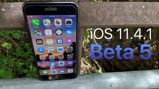 iOS 11.4.1 Beta 5 -- What's New?