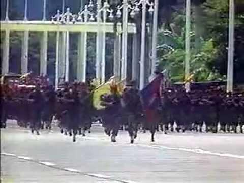 LEGADO DEL CMDTE. Desfile Militar el 4-FEB-1999