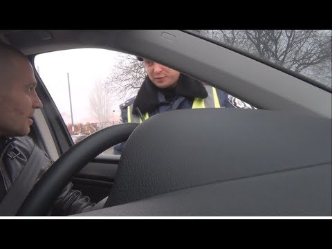 1 час работы Косенко на посту ГАИ 2 столба
