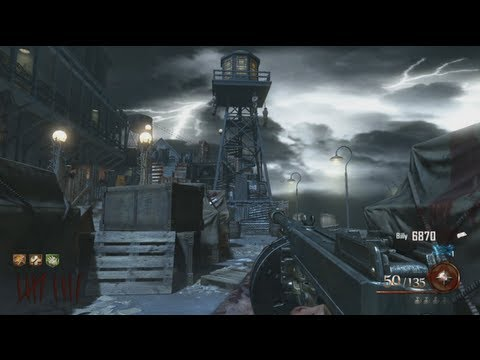 Mob Of The Dead - 'Tower Trap' Afterlife Upgrade!