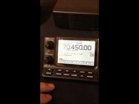 Introduction to the IC-7100 HF/VHF/UHF Amateur Radio Mobile Transceiver & ID-51A/E D-STAR handheld