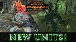 NEW UNITS Stats & Close up! - Prophet & the Warlock Total War: Warhammer 2