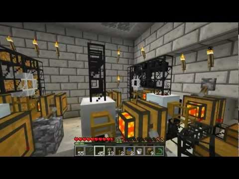 Episode 10! EE6 IC2 And BC3 Matter Generation Automation - Minecraft 1.1 Mods Series 1 Letsplay