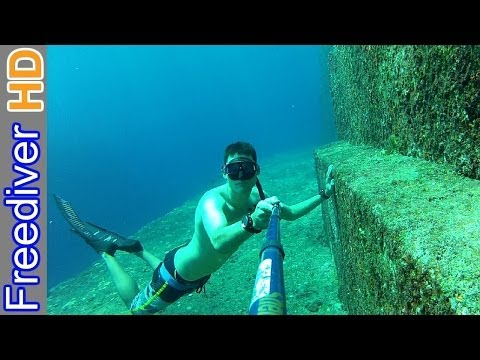 Freediving Yonaguni Pyramid - Aliens or Lost Civilization?