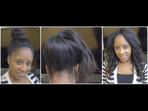 Versatile Natural Looking Sew-In Wig   Install & Styling   Virgin Lyfe Hair