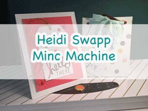 heidi swapp minc machine reviews