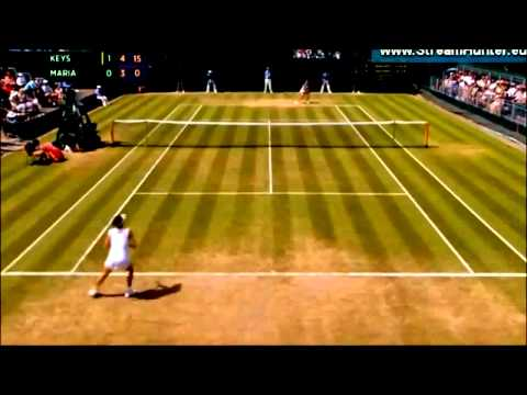 Madison Keys & Tatjana Maria || WIMBLEDON 2015 HIGHLIGHTS_HD 720p