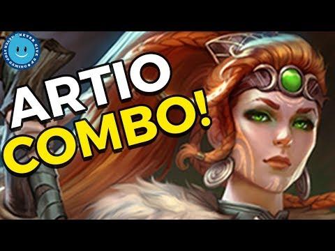 ARTIO + KUKULKAN COMBOS ARE INSANE! SMITE Artio Gameplay and Build!
