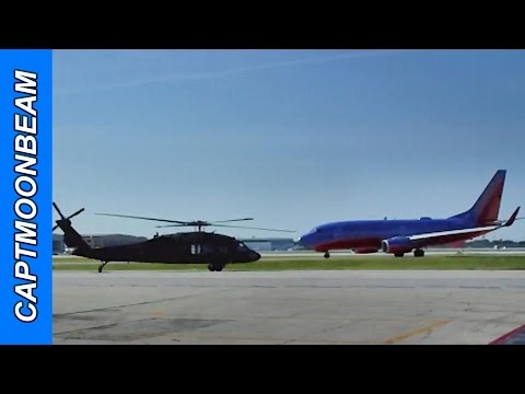 Southwest Airlines Midway Chicago Airport, Black Hawk Takeoff